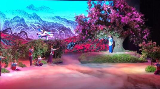 黄梅戏《槐花谣》在北京梅兰芳大剧院上演