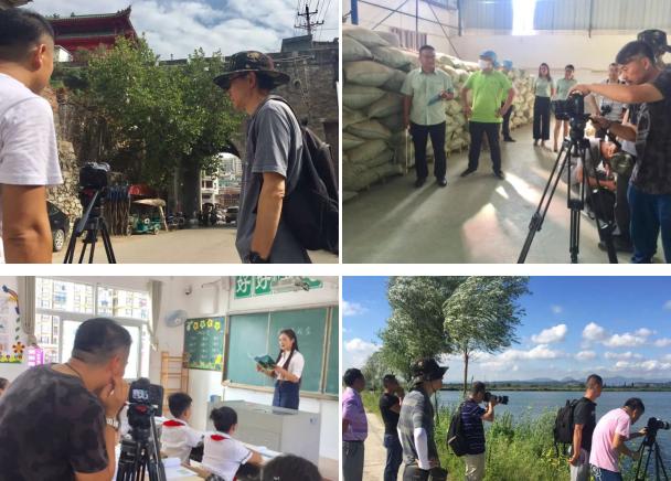 中国国际广播电台摄制组到大蕲拍摄三天让蕲春扬名中外