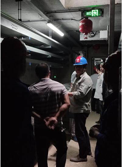 黄石市建委开展城市地下综合管廊安全检查