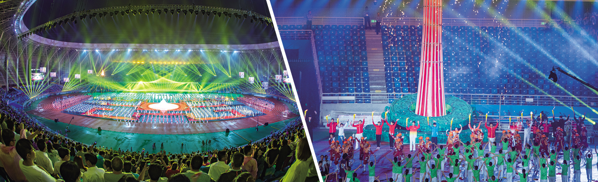 湖北省第十五届运动会在黄石举行