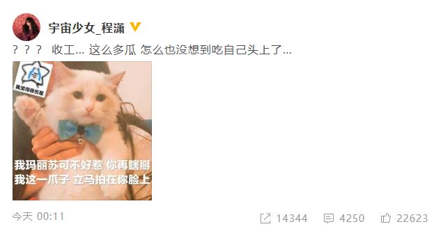 程潇回应传闻 程潇发文否认与杜江秘恋传闻