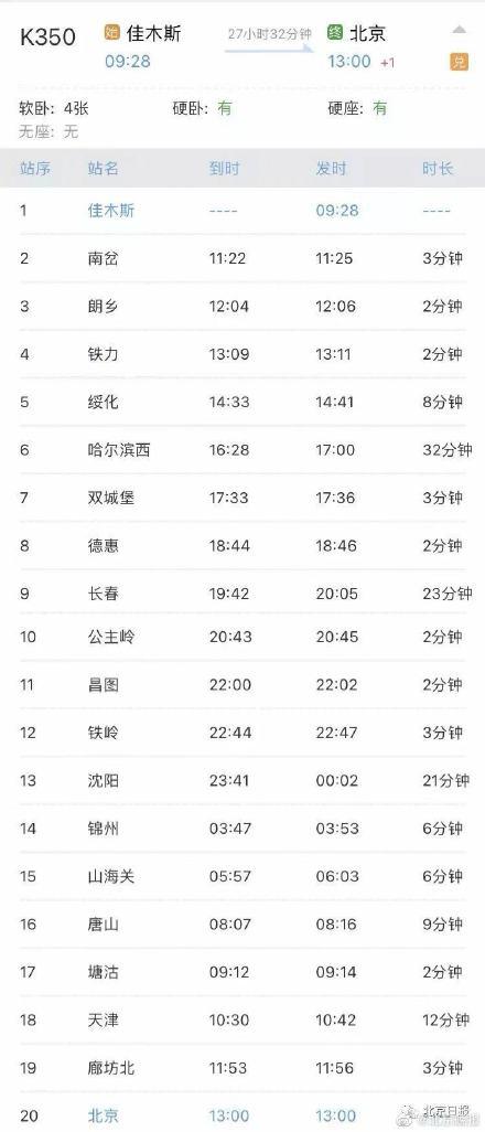 急��K350和Z158列�乘客 途�北京均�l�F感染者
