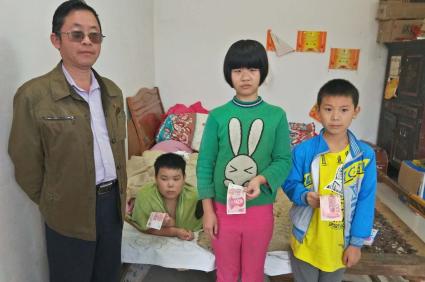 请全国各地好心人帮帮胡坪村三个可怜的孩子